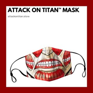 Attack On Titan Face Mask