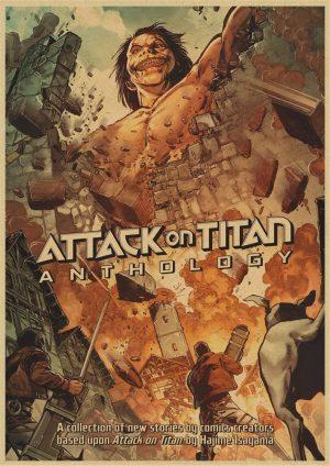 Attack On Titan Poster - M1