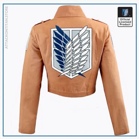 Attack on Titan Jacket Shingeki no Kyojin Legion Coat Cosplay Eren Levi Jacket Plus Size Free 1 - Attack On Titan Store