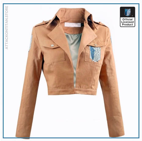 Attack on Titan Jacket Shingeki no Kyojin Legion Coat Cosplay Eren Levi Jacket Plus Size Free 2 - Attack On Titan Store
