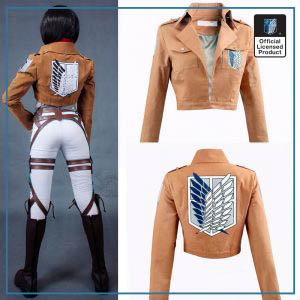 Attack on Titan Jacket Shingeki no Kyojin Legion Coat Cosplay Eren Levi Jacket Plus Size Free - Attack On Titan Store