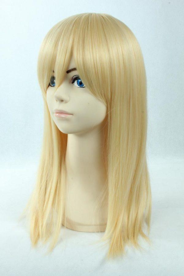 Attack on Titan Krista Lenz Christa Short Blonde Kyojin Renz Heat Resistant Synthetic Hair Cosplay Costume 1 - Attack On Titan Store