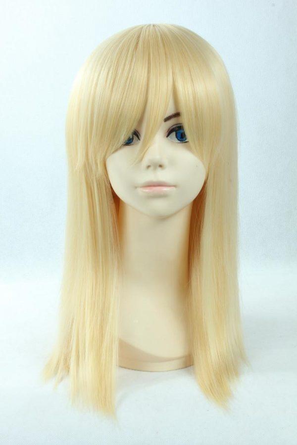 Attack on Titan Krista Lenz Christa Short Blonde Kyojin Renz Heat Resistant Synthetic Hair Cosplay Costume 3 - Attack On Titan Store