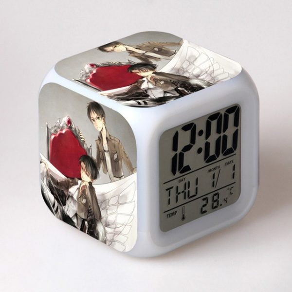 Anime toy Attack On Titan Ackerman 7 Colors Change Touch light Alarm Clock Action Figures for 16.jpg 640x640 16 - Attack On Titan Store