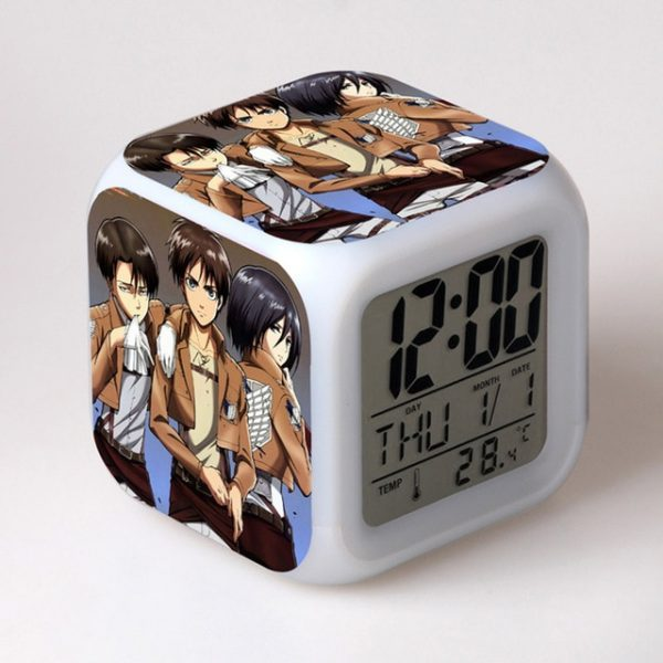 Anime toy Attack On Titan Ackerman 7 Colors Change Touch light Alarm Clock Action Figures for 7.jpg 640x640 7 - Attack On Titan Store
