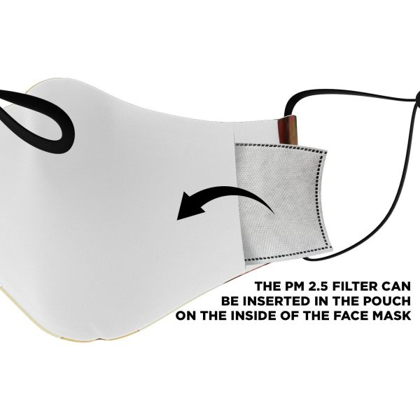 armored titan attack on titan premium carbon filter face mask 920162 - Attack On Titan Store