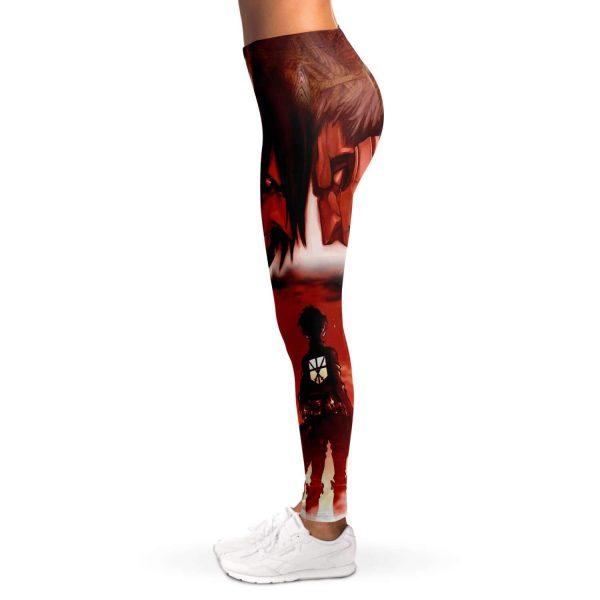 burning attack on titan premium leggings 139137 - Attack On Titan Store