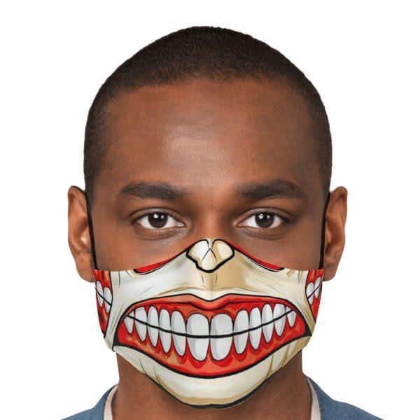 colossal titan attack on titan premium carbon filter face mask 831120 - Attack On Titan Store