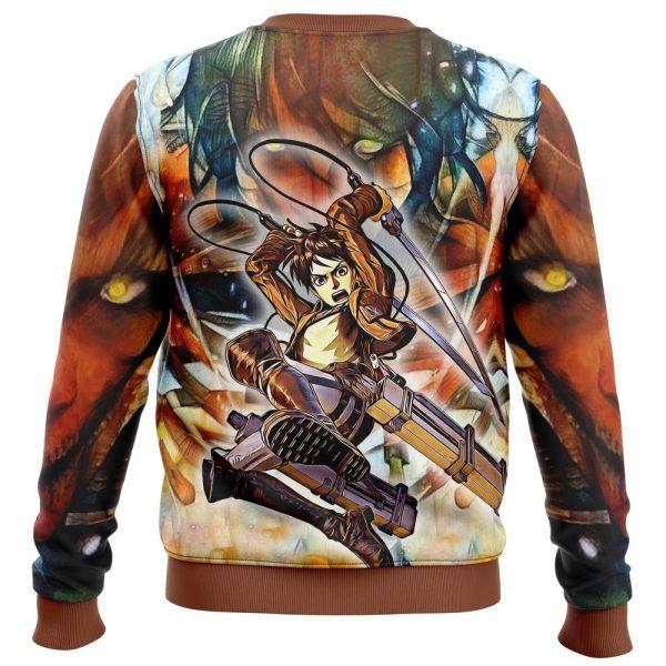 eradic eren attack on titan sweatshirt 229048 - Attack On Titan Store
