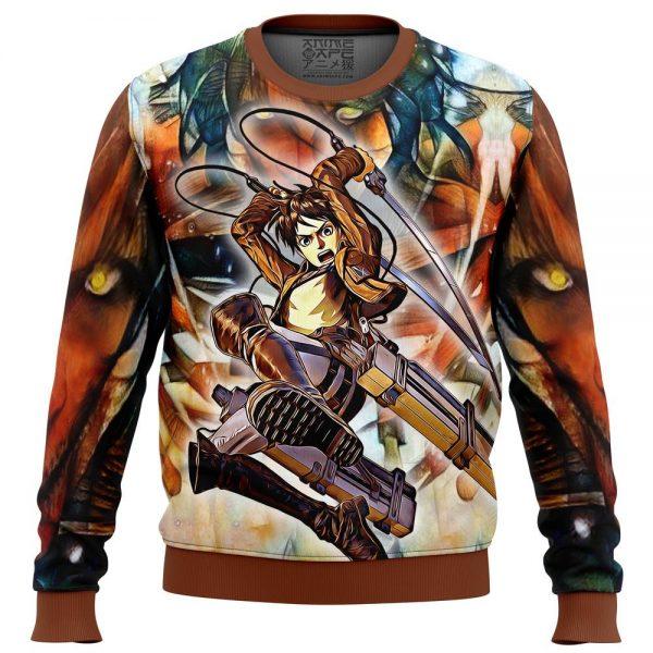 eradic eren attack on titan sweatshirt 979025 - Attack On Titan Store
