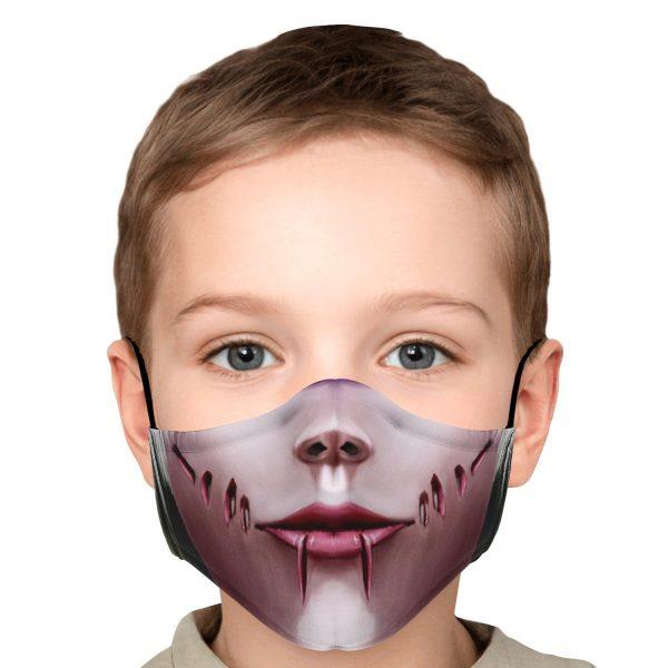 female titan attack on titan premium carbon filter face mask 202455 - Attack On Titan Store
