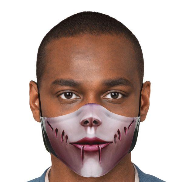 female titan attack on titan premium carbon filter face mask 382019 - Attack On Titan Store