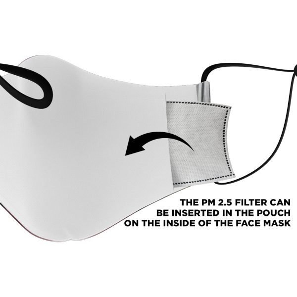 female titan attack on titan premium carbon filter face mask 984289 - Attack On Titan Store