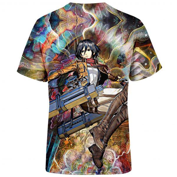 focused mikasa t shirt 322623 - Attack On Titan Store