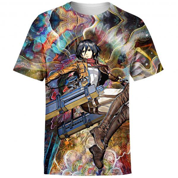 focused mikasa t shirt 773530 - Attack On Titan Store