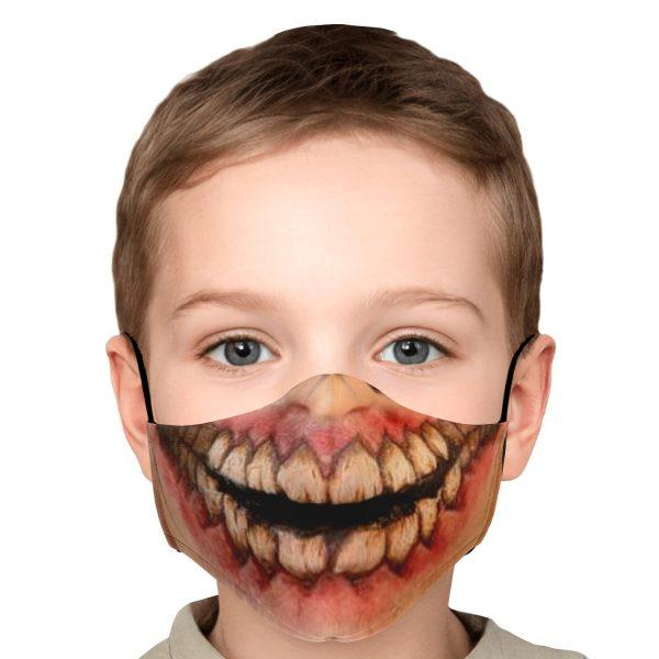 jaw titan v1 attack on titan premium carbon filter face mask 823275 - Attack On Titan Store