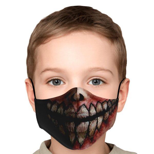 jaw titan v2 attack on titan premium carbon filter face mask 302948 - Attack On Titan Store