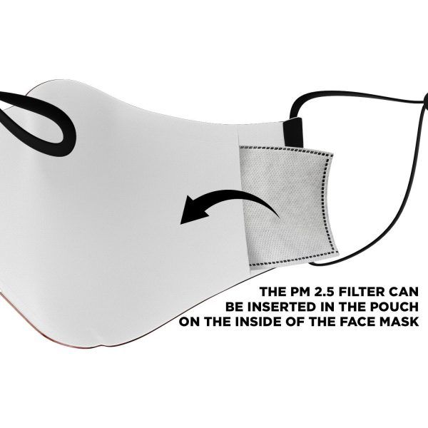 jaw titan v2 attack on titan premium carbon filter face mask 491431 - Attack On Titan Store
