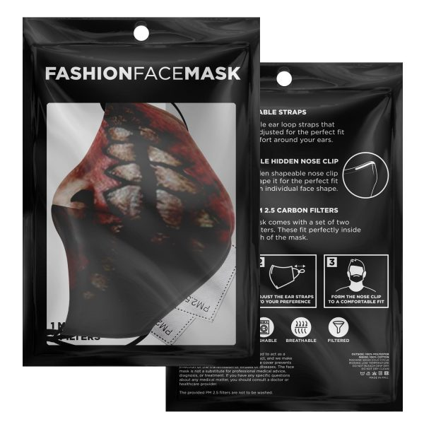 jaw titan v2 attack on titan premium carbon filter face mask 524349 - Attack On Titan Store