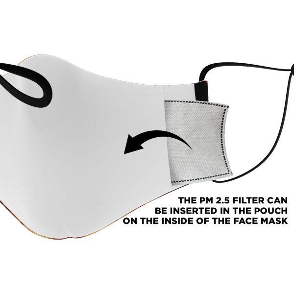 jaw titan v3 attack on titan premium carbon filter face mask 199743 - Attack On Titan Store