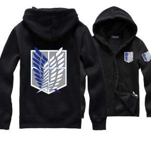 Attack on Titan Scout Regiment Emblem Hoodie Official Attack On Titan Merch