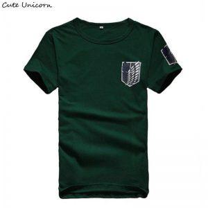 Attack On Titan t shirt mens clothing streetwear t-shirt anime Fans Attack On Titan Merch