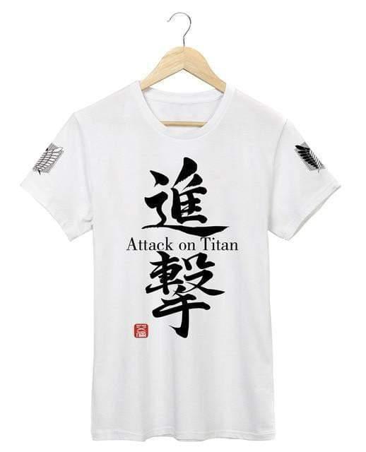 Attack On Titan t shirt mens clothing streetwear t-shirt anime Official Attack On Titan Merch