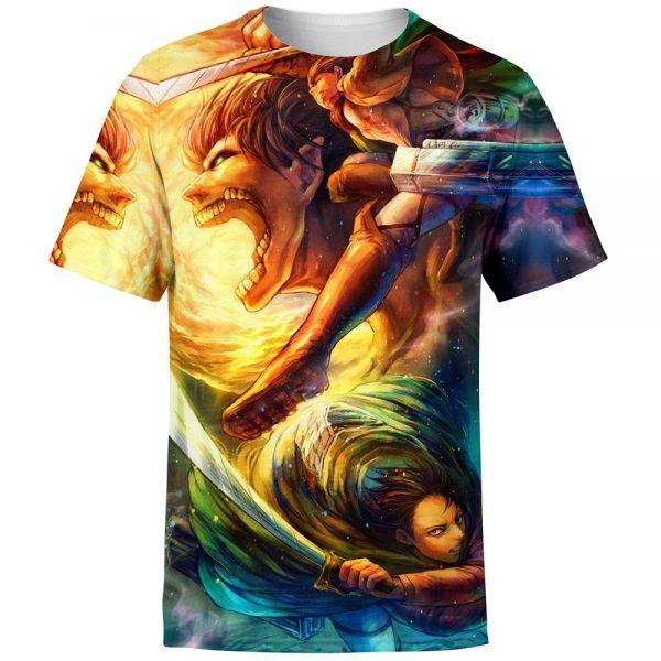 vibrant attack on titan t shirt 579167 - Attack On Titan Store
