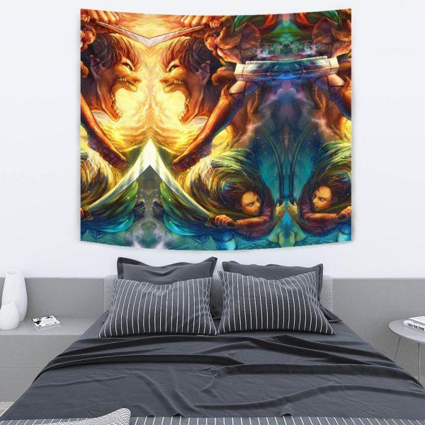 vibrant attack on titan tapestry 468384 - Attack On Titan Store