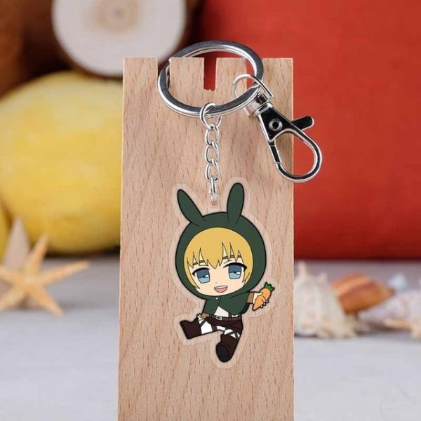 2019 New Arrival Attack on Titan Japanese anime figure acrylic mobile phone charms keychain strap keyring 13.jpg 640x640 13 - Attack On Titan Store