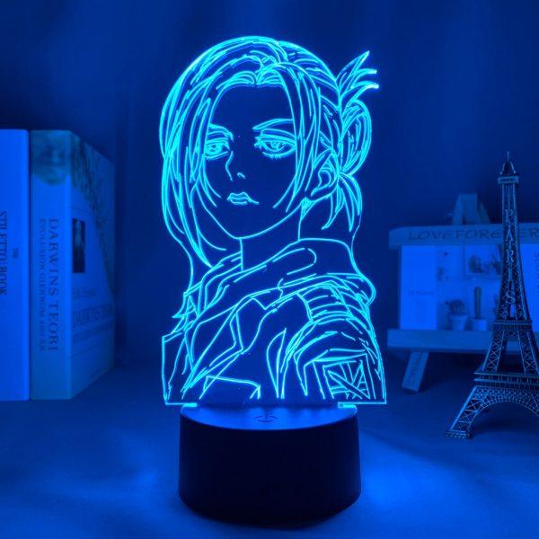 Anime 3d Light Attack on Titan Annie Leonhart Lamp for Home Decor Birthday Gift Manga Attack 1 - Attack On Titan Store