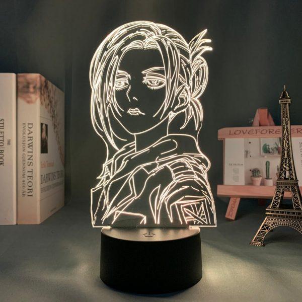 Anime 3d Light Attack on Titan Annie Leonhart Lamp for Home Decor Birthday Gift Manga Attack 2 - Attack On Titan Store