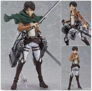 Anime Attack on Titan 15cm Eren Mikasa Ackerman Levi Rivaille Figma PVC Action Figure Model Toy.jpg 640x640 - Attack On Titan Store