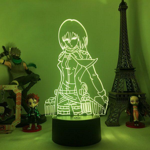 Anime Attack on Titan 3d Lamp Armin Arlert Light for Bedroom Decor Kids Gift Attack on 1 - Attack On Titan Store