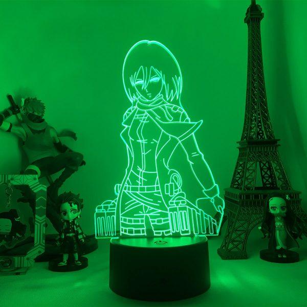 Anime Attack on Titan 3d Lamp Armin Arlert Light for Bedroom Decor Kids Gift Attack on 2 - Attack On Titan Store