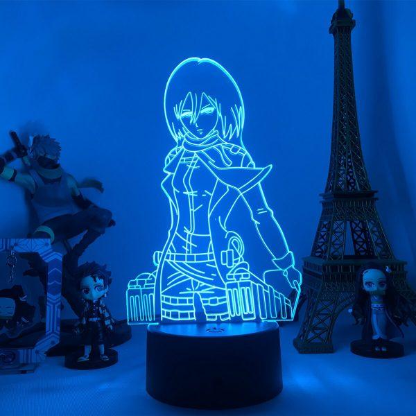 Anime Attack on Titan 3d Lamp Armin Arlert Light for Bedroom Decor Kids Gift Attack on 3 - Attack On Titan Store