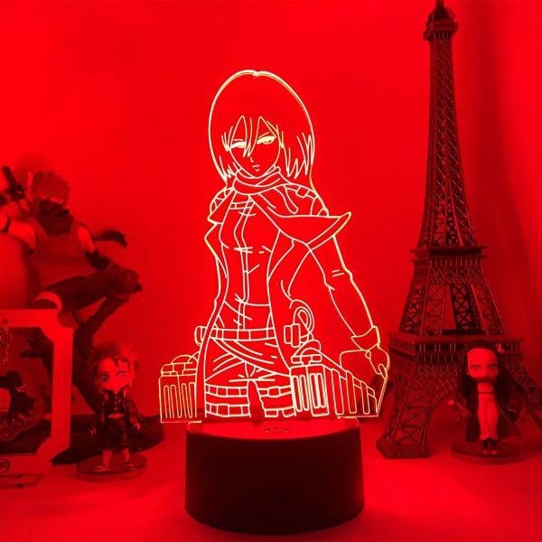 Anime Attack on Titan 3d Lamp Armin Arlert Light for Bedroom Decor Kids Gift Attack on 4 - Attack On Titan Store