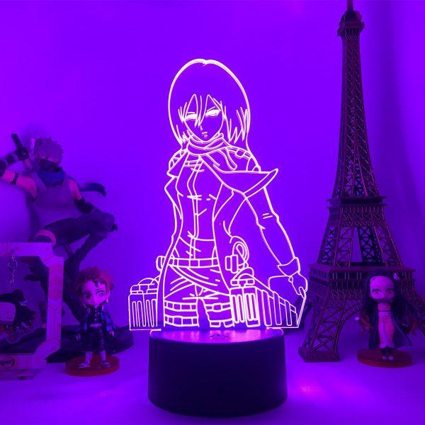 Anime Attack on Titan 3d Lamp Armin Arlert Light for Bedroom Decor Kids Gift Attack on - Attack On Titan Store