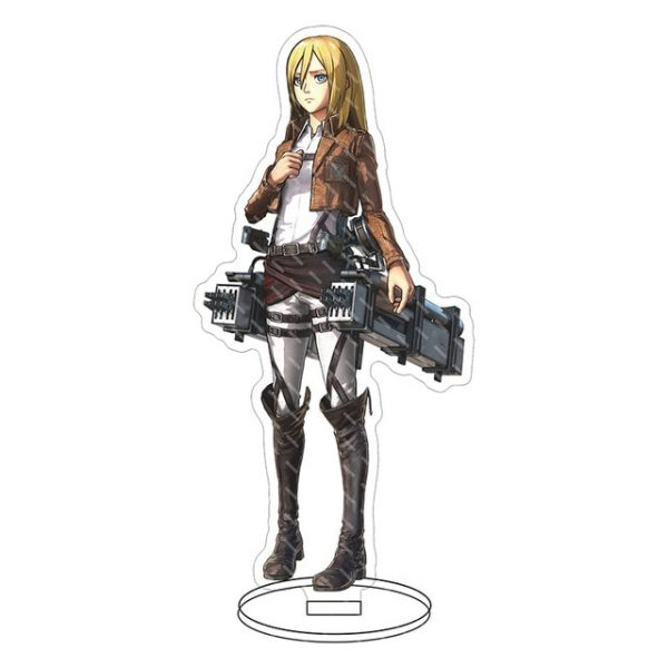 Anime Attack on Titan Acrylic Figure Stand Model Toys two sided Action Desktop Decoration Pendant Toy 21.jpg 640x640 21 - Attack On Titan Store