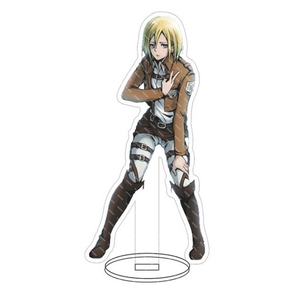 Anime Attack on Titan Acrylic Figure Stand Model Toys two sided Action Desktop Decoration Pendant Toy 22.jpg 640x640 22 - Attack On Titan Store