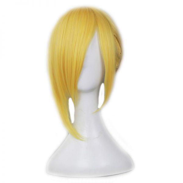 Anime Attack on Titan Annie Leonheart Cosplay Wig Ani Reonhato Blonde Ponytail Fake Hair Pelucas Halloween - Attack On Titan Store