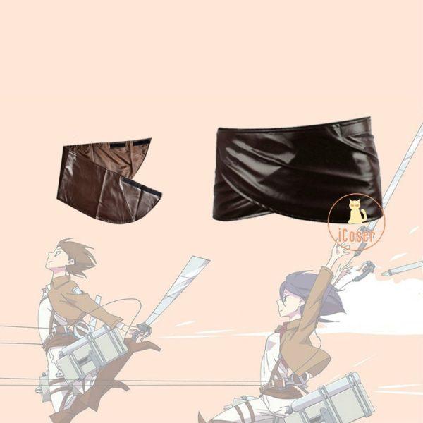 Anime Attack on Titan Cosplay Skirt Scout Regiment Levi Ackerman Erwin Smith Hange Zoe Costume Accessory - Attack On Titan Store