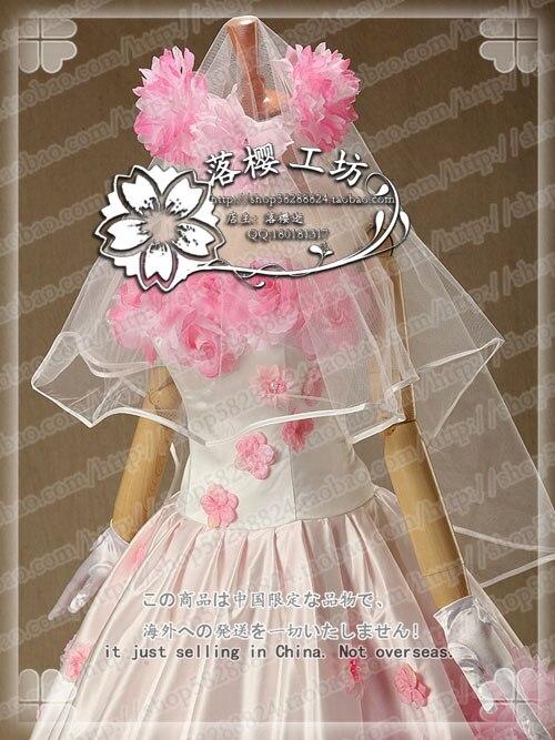 Anime Attack on Titan Krista Lenz Historia Reiss Cosplay Costume Wedding Dress Outfit Dress Gloves Veil 3 - Attack On Titan Store