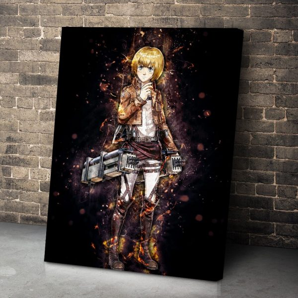 Attack On Titan Anime Armin Arlert Pictures HD Printed Canvas Poster Modular Living Room Wall Art 2 - Attack On Titan Store