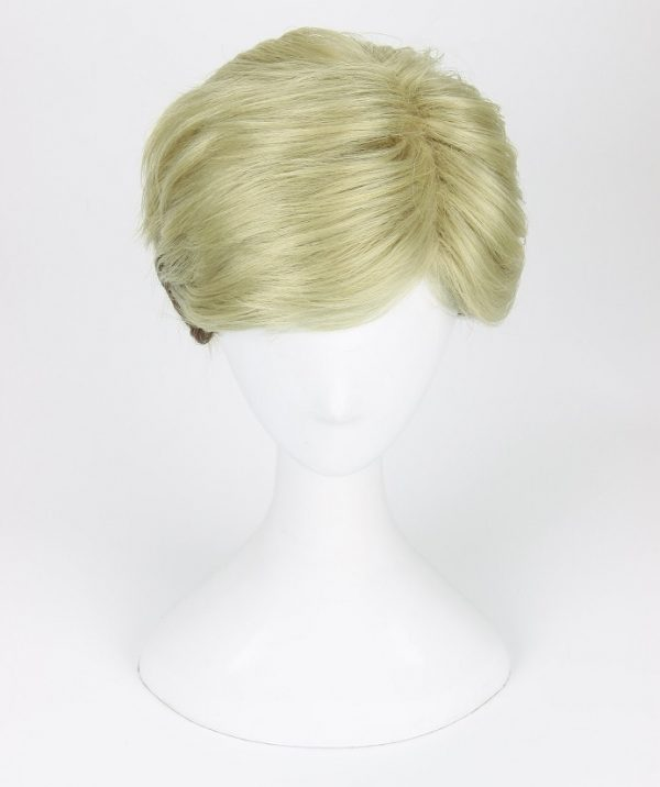 Attack on Titan Erwin Smith Wig Short Blonde Brown Ombre Color Cosplay Wig 4 - Attack On Titan Store