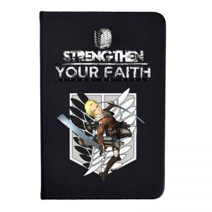Anime Attack On Titan Notebook Note Pad for students school supplies 14x9.5cm