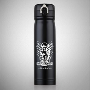 OUSSIRRO ATTACK ON TITAN Theme Thermos Saitama Pure Color Mugs Cup Kitchen Tool Gift