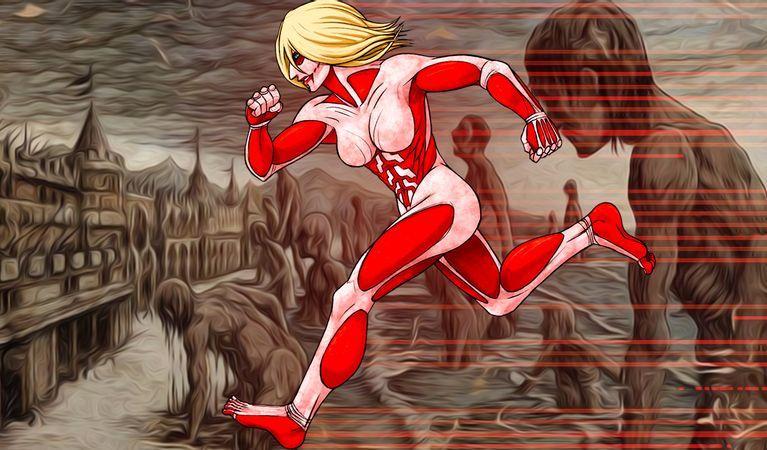 attack on titan female titan - Attack On Titan Store